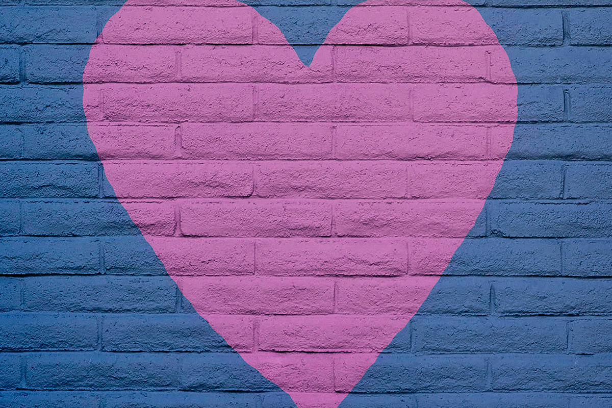 Heart on the wall - What to do when your daughter hits a wall
